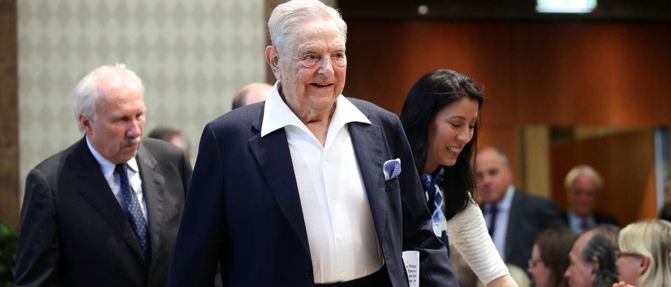 Billionaire investor George Soros is awarded the Schumpeter Prize in Vienna
