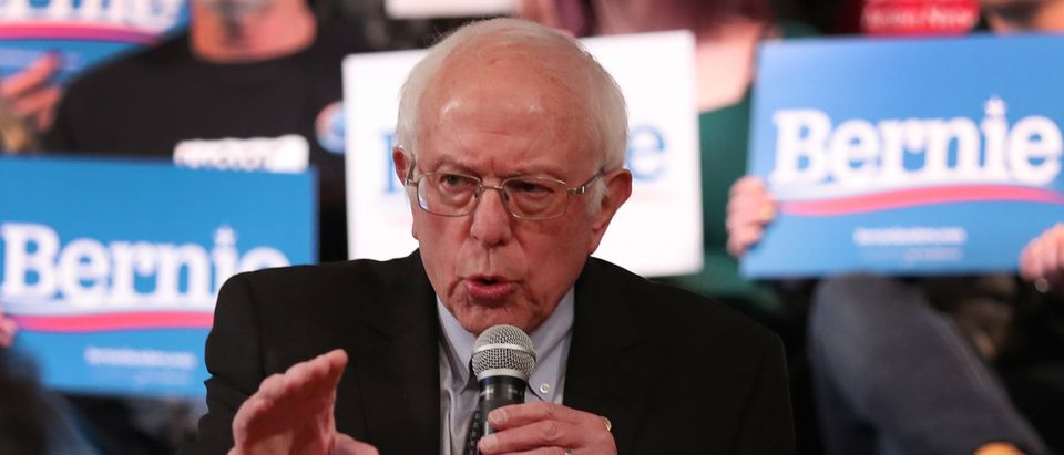 Presidential Candidate Bernie Sanders Campaigns In NH Ahead Of Primary