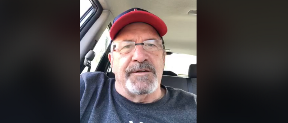 Pastor, coach, halftime show Super Bowl 54[Facebook/Screenshot/Public — User: Dave Daubenmire]