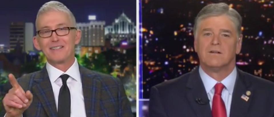 Trey Gowdy speaks with Sean Hannity. Screen Shot/Fox News