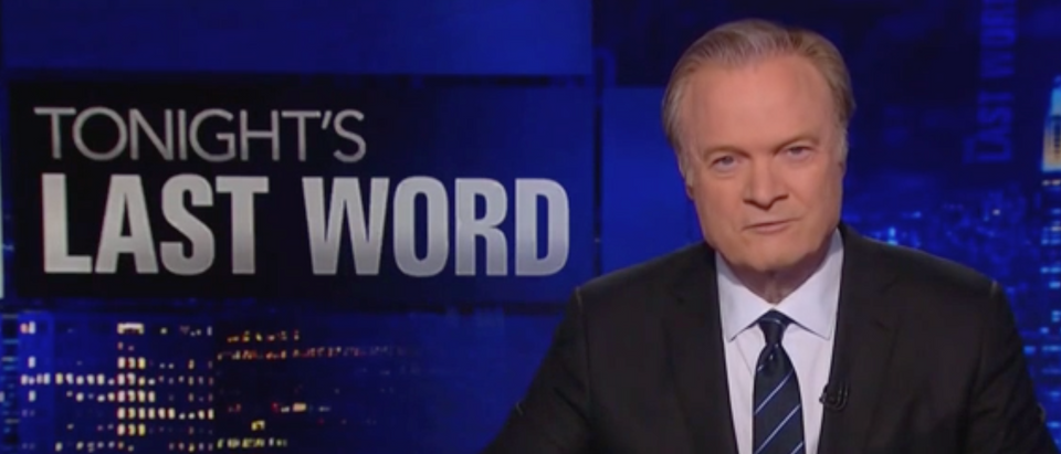 Lawrence O'Donnell claimed that President Donald Trump's mental health is getting worse. (Screenshot MSNBC)
