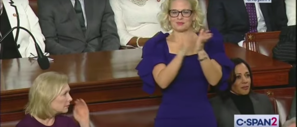 Kyrsten Sinema Applauds Trump Tax Cuts While Other Democrats Sit Silently
