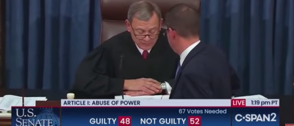 Watch The Moment The Senate Acquitted Donald Trump