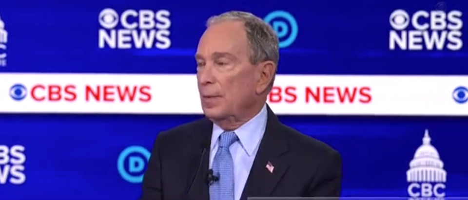 Bloomberg Bought Democratic Majority