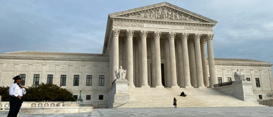 The Supreme Court is seen on Feb. 1, 2020. (Daniel Slim/AFP/Getty Images)