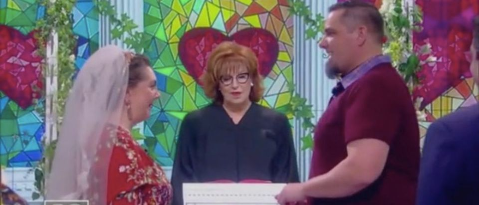 The View Wedding (Photo: ABC Screenshot)