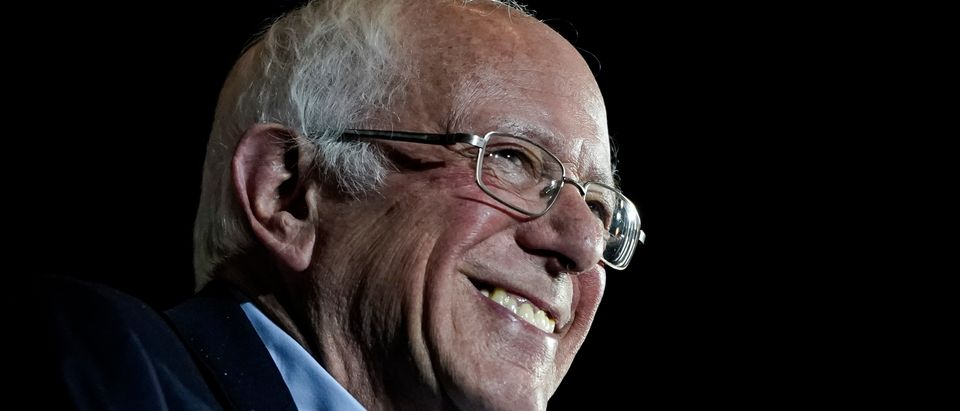Democratic presidential candidate Sen. Bernie Sanders is pictured. (Drew Angerer/Getty Images)