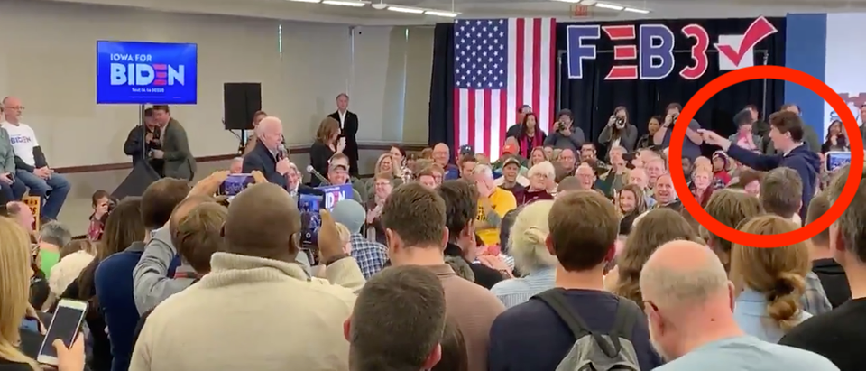 Biden Iowa Rally(Screenshot/Twitter)