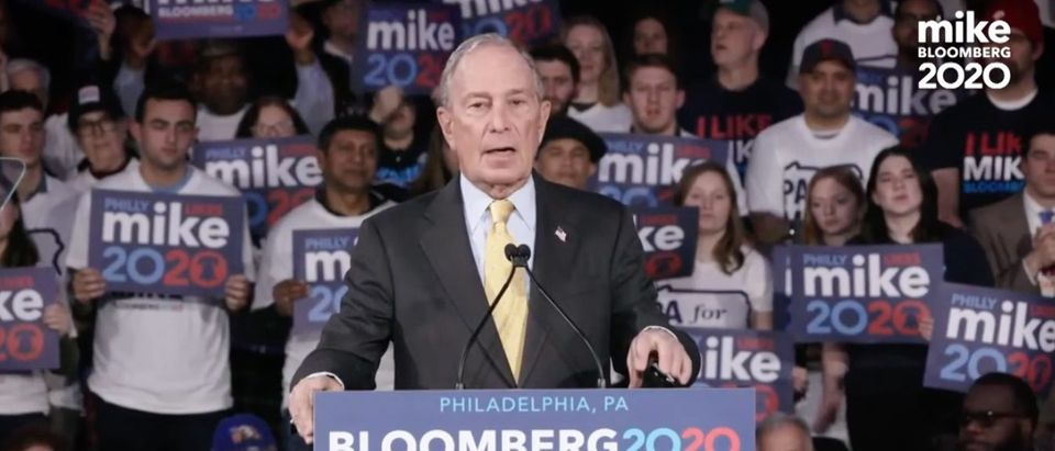 Michael Bloomberg campaign ad released on Feb. 19, 2020. (YouTube screen capture/Bloomberg campaign)