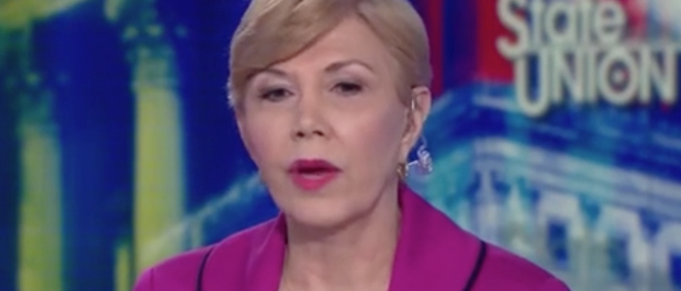 """Linda Chavez appears on """"State of the Union."""" Screen Shot/CNN"""