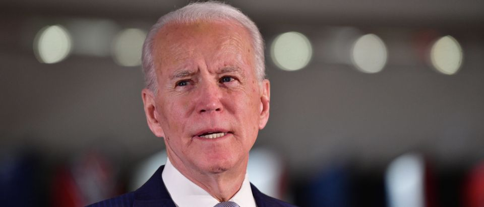 Presidential Candidate Joe Biden Makes Primary Night Remarks In Philadelphia