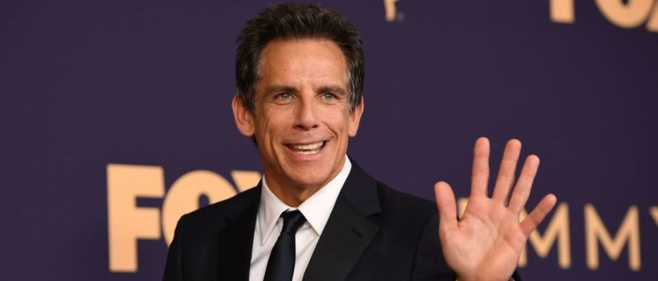 Actor Ben Stiller arrives for the 71st Emmy Awards at the Microsoft Theatre in Los Angeles on September 22, 2019. (Photo credit: ROBYN BECK/AFP via Getty Images)