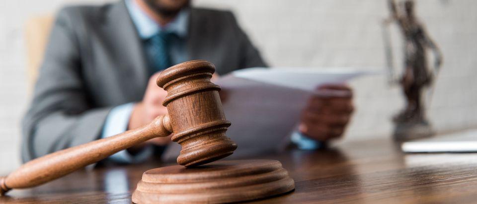 Courtroom. Shutterstock