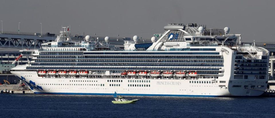 The cruise ship Diamond Princess, where dozens of passengers were tested positive for coronavirus, is seen at Daikoku Pier Cruise Terminal in Yokohama, south of Tokyo, Japan February 10, 2020. REUTERS/Kim Kyung-Hoon
