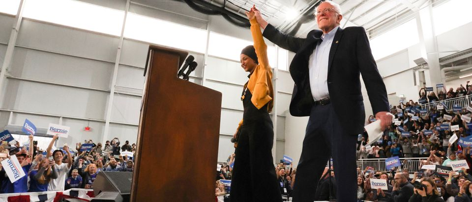 Democratic 2020 U.S. presidential candidate Sanders rallies with supporters in Springfield, Virginia
