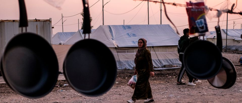 Refugee Camps Swell In Northern Iraq As Syrians Flee Recent Fighting