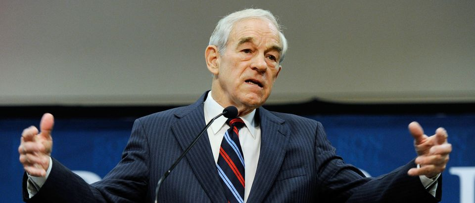 Ron Paul Campaigns In Las Vegas Ahead Of Nevada's Caucus