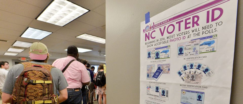 North Carolina Voters Go To The Polls In State Primary