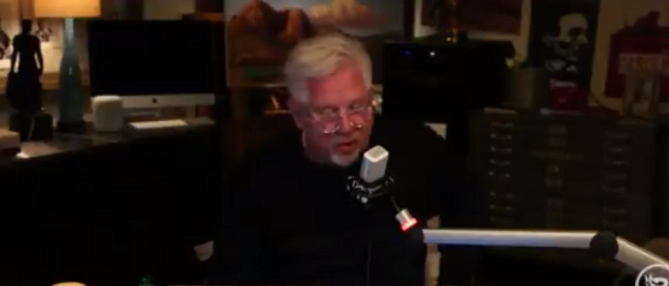 Glenn Beck discusses return to work despite risk (BlazeTV screengrab)