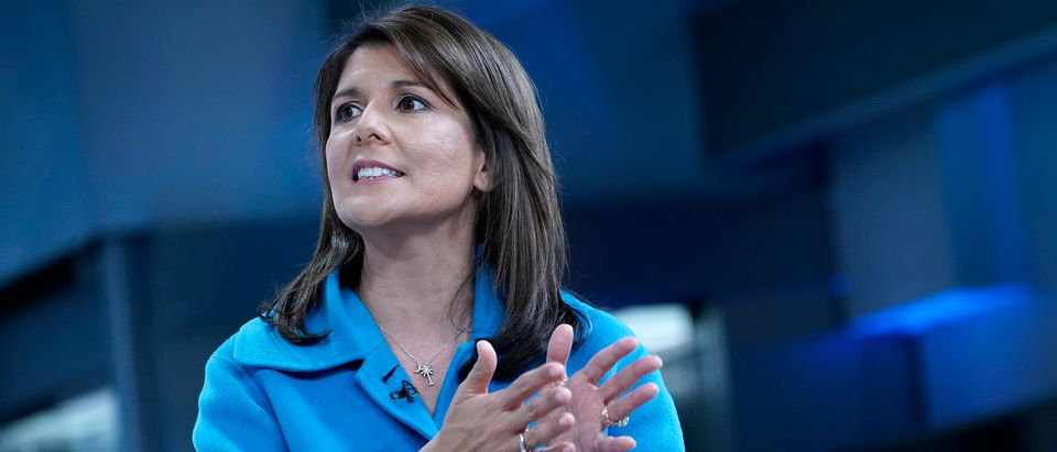 """Former UN Ambassador Nikki Haley Visits """"Fox & Friends"""""""