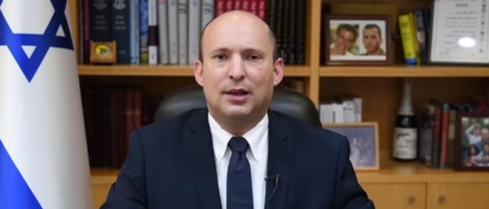 Israeli Defense Minister shares coronavirus plan (Youtube screengrab)