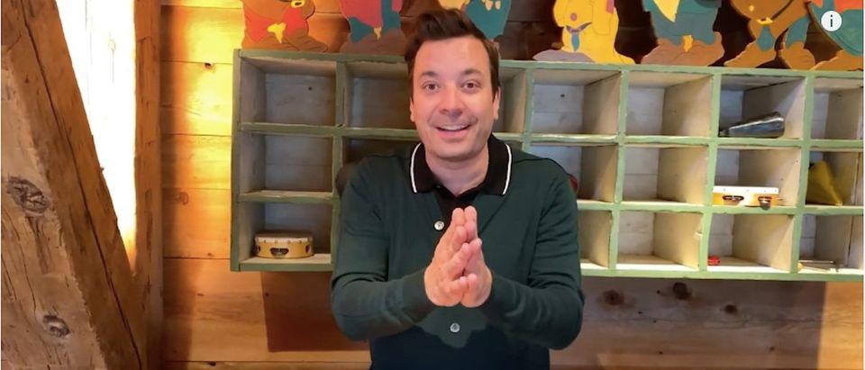 Jimmy Fallon Show Home Edition (Photo: YouTube Screenshot)