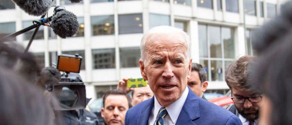 Former Vice President Joe Biden Delivers Remarks At IBEW Conference