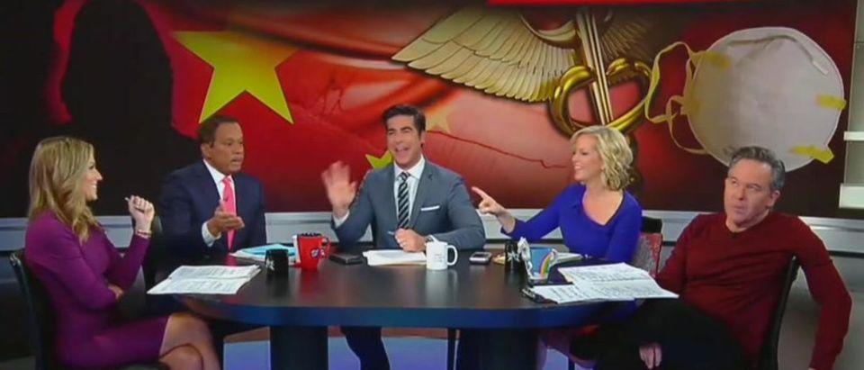Juan Williams refuses to give Trump credit for Chinese travel ban (Fox News screengrab)