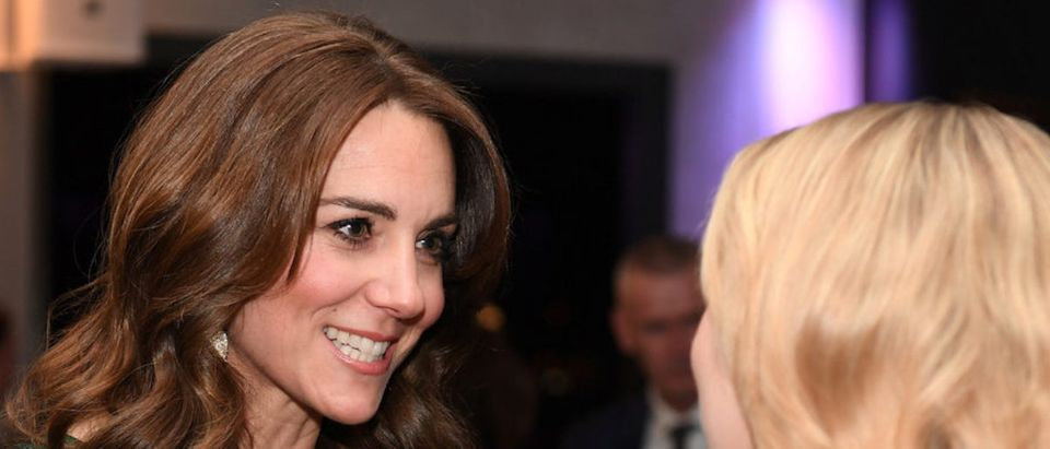 Britain's Catherine, Duchess of Cambridge, attends a reception at the Guinness Storehouse in Dublin, Ireland, March 3, 2020. James Whatling/Pool via REUTERS