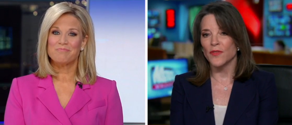 Marianne Williamson criticizes James Carville comments (Fox News screengrab)