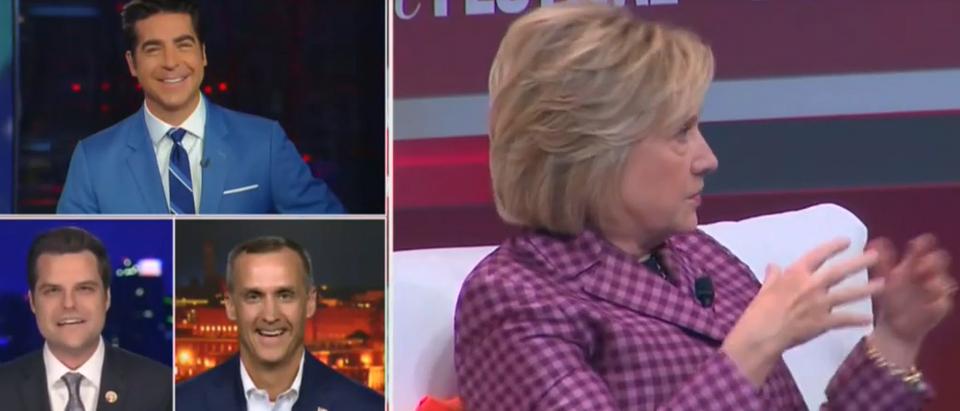 Matt Gaetz compares Clinton Hulu series to Kardashians (Fox News screengrab)