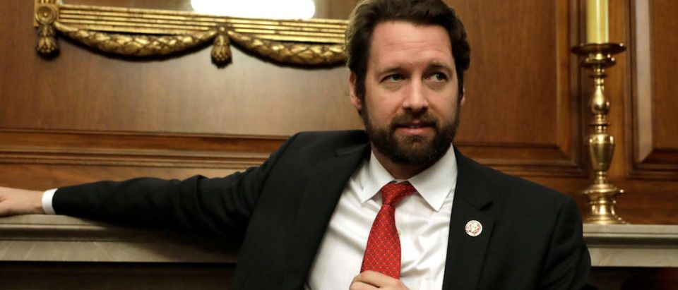 Rep. Joe Cunningham speaks during an interview for Reuters on Capitol Hill