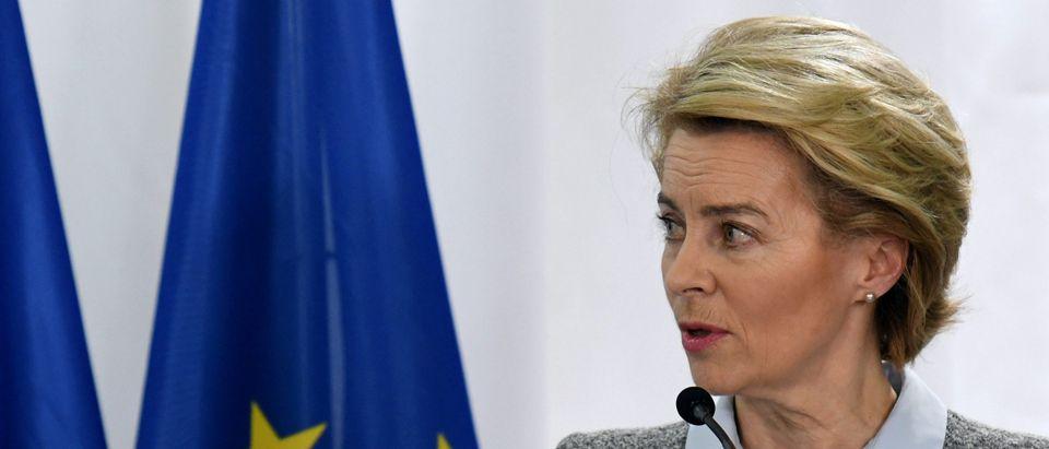 Von Der Leyen. (Reuters/Alexandros Avramidis)