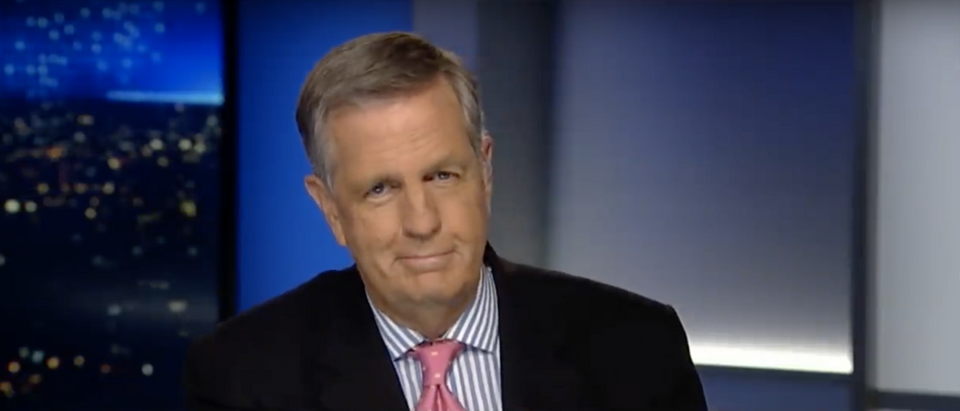 """Brit Hume show his browser history in recent tweets, including one where he appeared to have searched """"sexy vixen vinyl."""" (Screenshot YouTube Fox News, https://www.youtube.com/watch?v=e7A5CS90kWc)"""