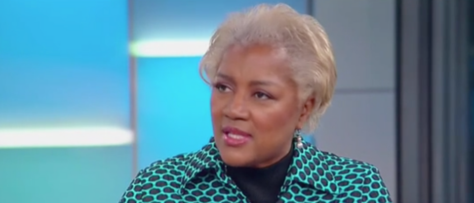 """Donna Brazile says she was """"a bad girl"""" after telling Ronna McDaniel to """"go to hell."""" (Screenshot Fox News, Fox & Friends)"""