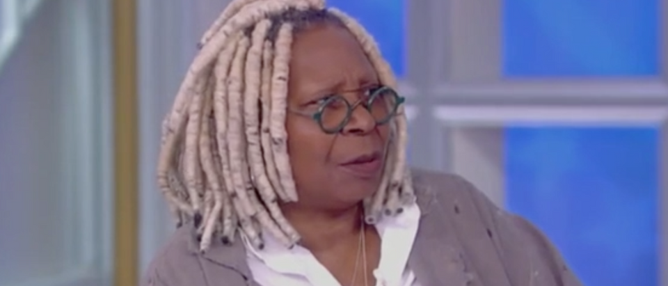 """Whoopi Goldberg appears on """"The View."""" Screen Shot/ABC"""