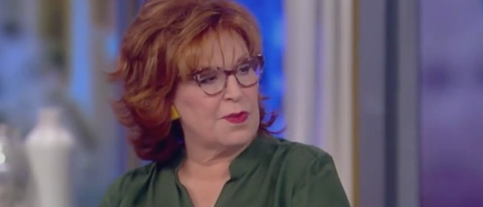 "Joy Behar appears on ""The View."" Screen Shot/ABC"
