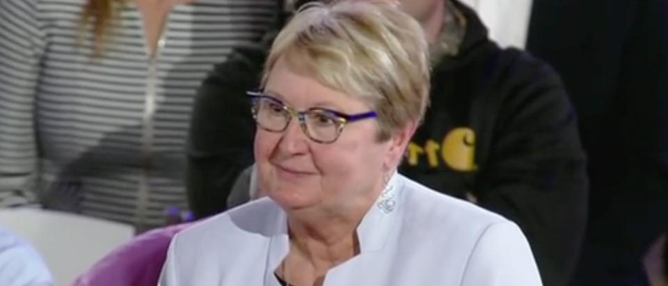 Lynette Villano appears on Fox News town hall. Screen Shot/Fox News