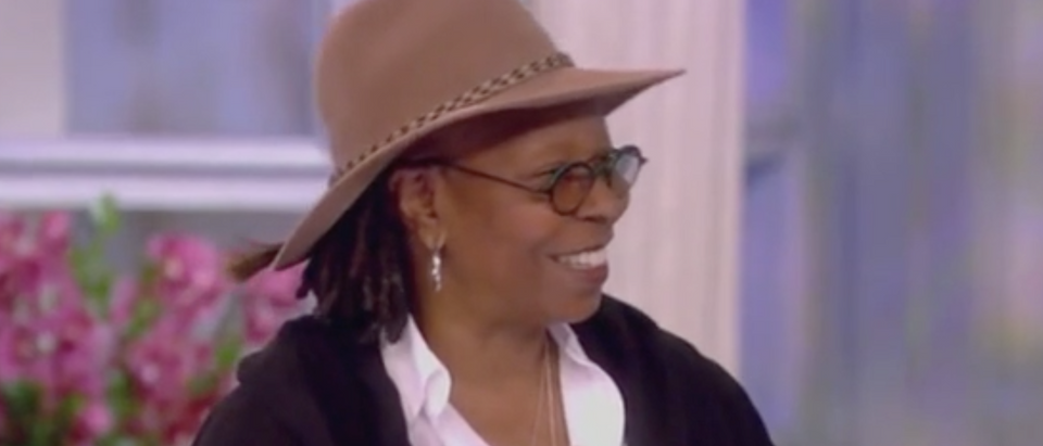 "Whoopi Goldberg appears on ""The View."" Screenshot/ABC"