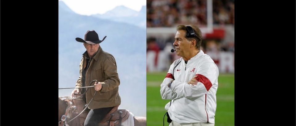 Yellowstone, College Football (Credit: Getty Images, Paramount Network)