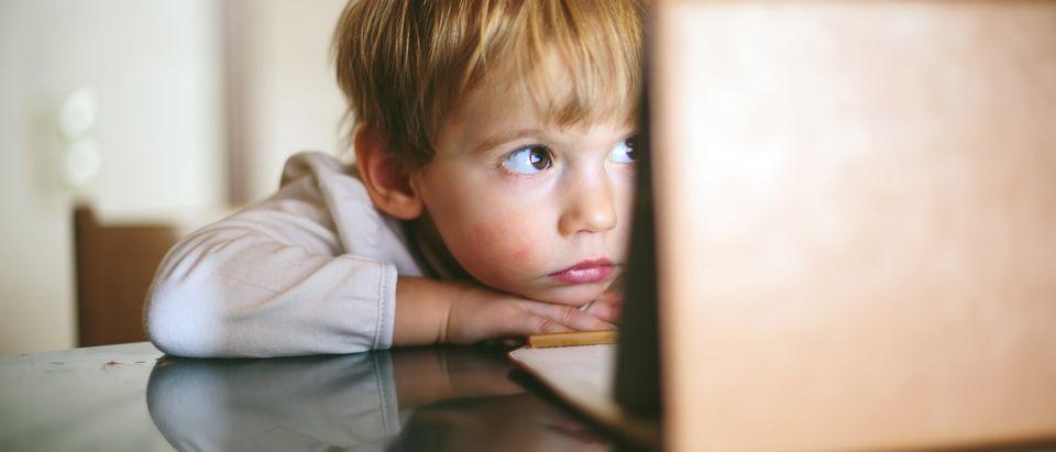 Child internet safety. Shutterstock, AnnaTamila