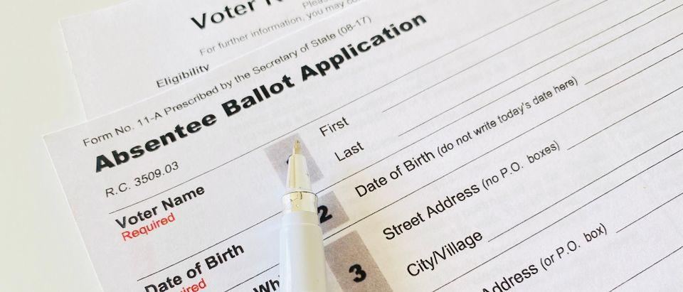 Absentee Vote. Shutterstock