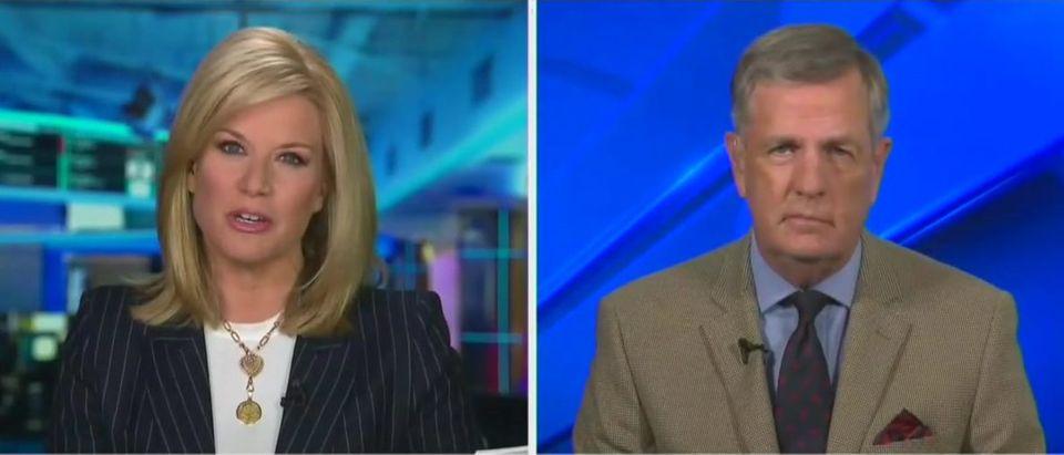 Brit Hume makes case against national lockdown (Fox News screengrab)