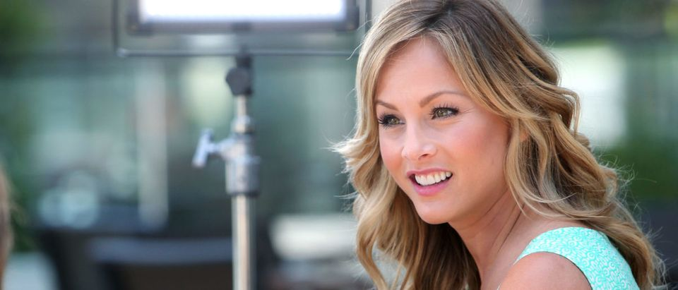 Clare Crawley Visits EXTRA At Westfield Century City