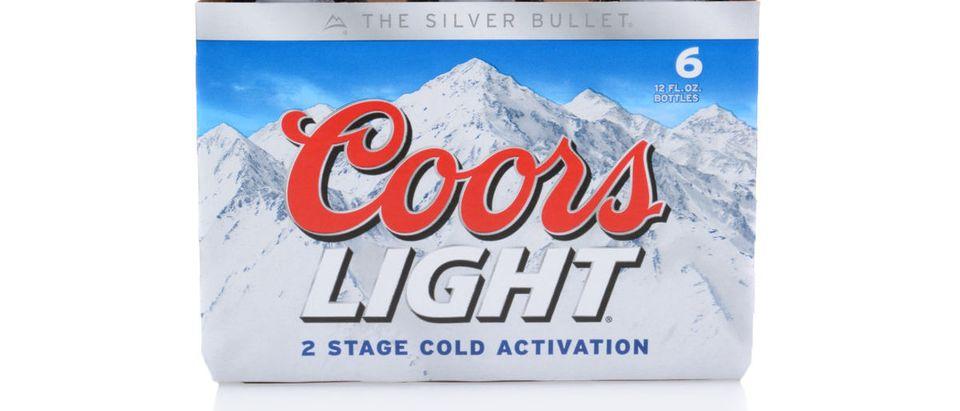 Coors Light (Credit: Shutterstock/LunaseeStudios)