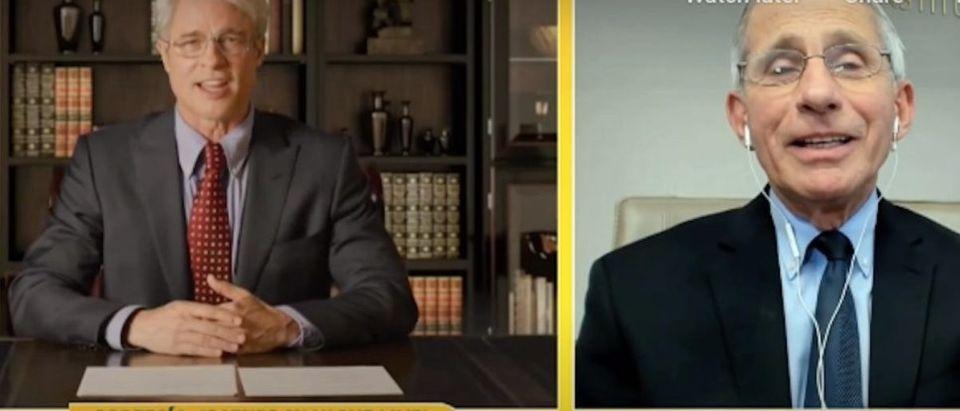 Dr.Fauci_Brad _Pitt_Impression Photo: YouTube Screenshot