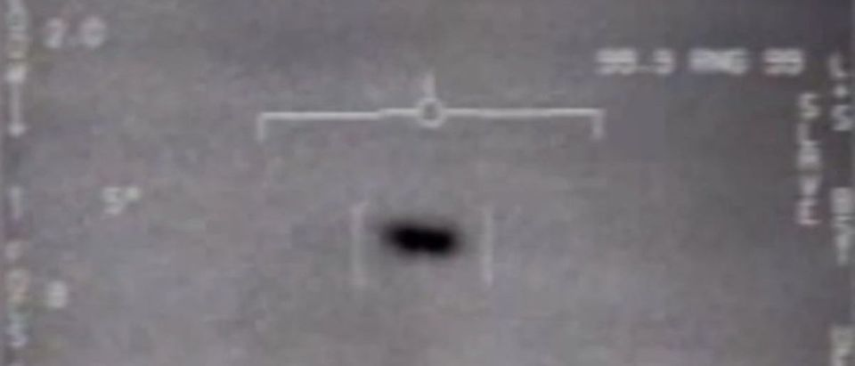 UFO footage captured by Navy pilots
