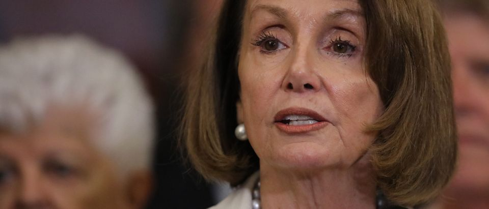 Democratic Leader Nancy Pelosi And House Democrats Hold Event In Support Of Kavanaugh Accuser Dr. Christine Blasey Ford