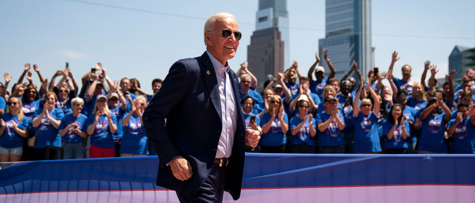 Joe Biden Holds Official Presidential Campaign Kickoff Rally In Philadelphia