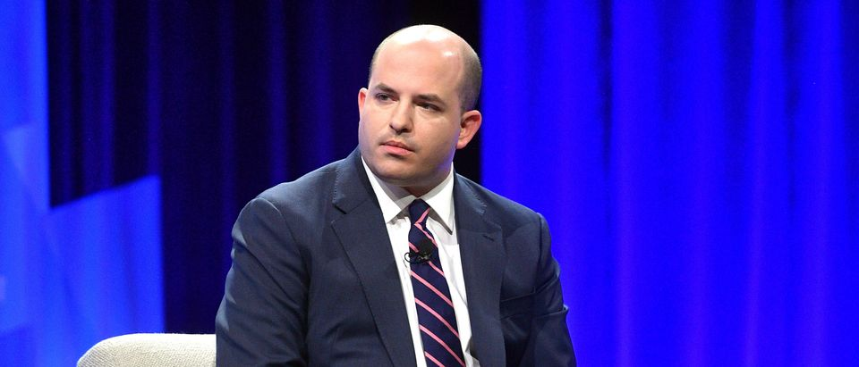 Brian Stelter, Chief Media Correspondent for CNN speaks onstage during 'Discovery Gets Cooking' at Vanity Fair's 6th Annual New Establishment Summit at Wallis Annenberg Center for the Performing Arts on October 22, 2019 in Beverly Hills, California. (Matt Winkelmeyer/Getty Images for Vanity Fair)